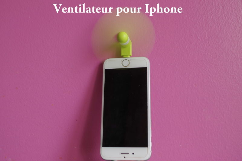 Lou Ventilateur Iphone
