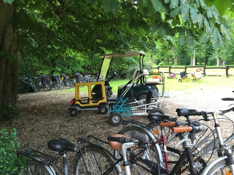 visite du parc de saint-cloud en voiture de golf – les trouvailles