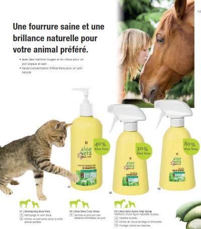 Aloé Véra pour animaux