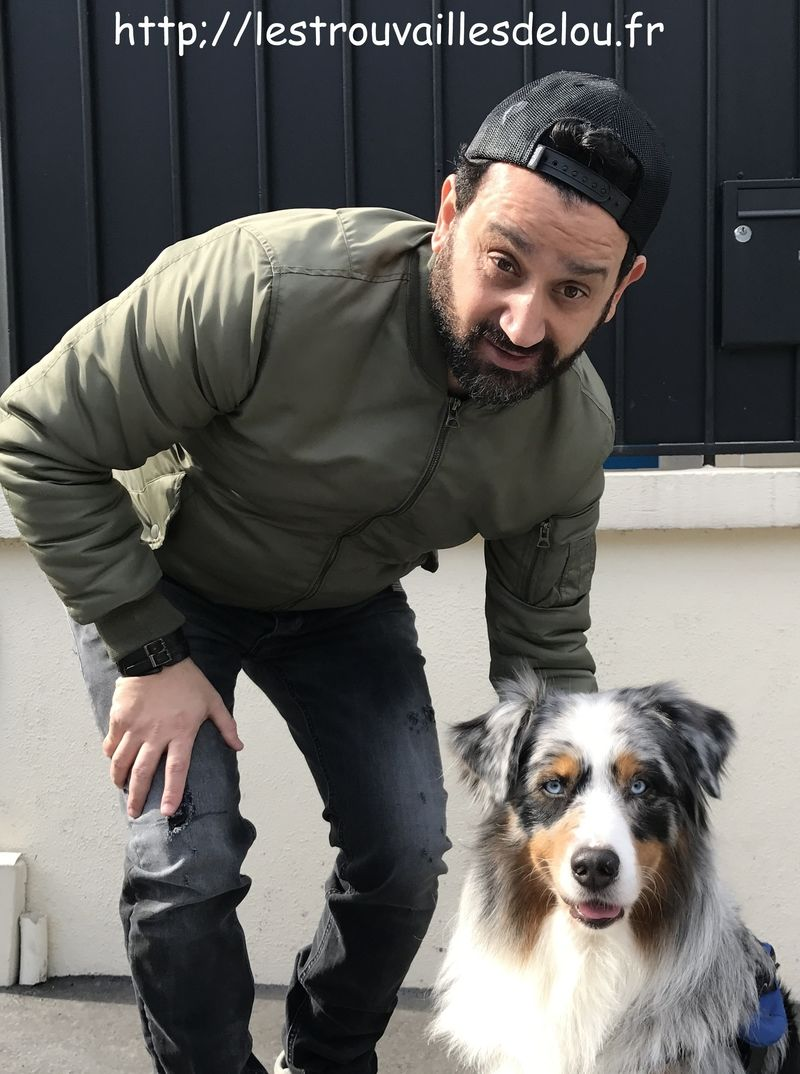 Lou et Cyril Hanouna